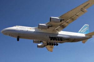 Украина за долги выставит на продажу самый большой грузовой самолет в мире