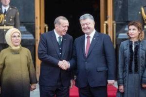 Президент Турции прибыл в Киев