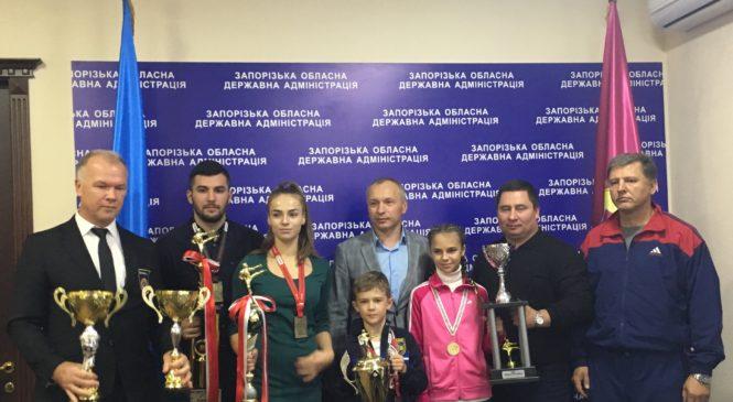 Чемпионы мира живут в Запорожье