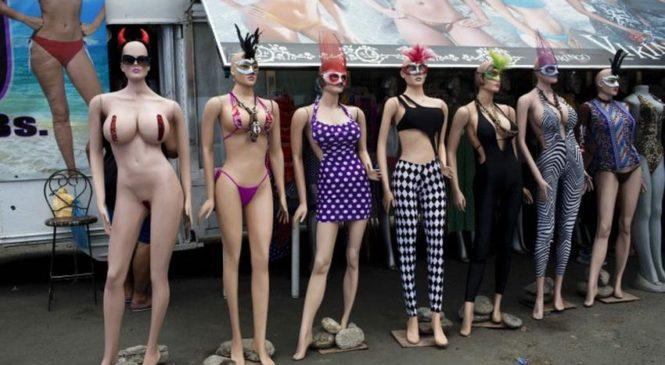 Самые красивые манекены можно встретить только в Венесуэле