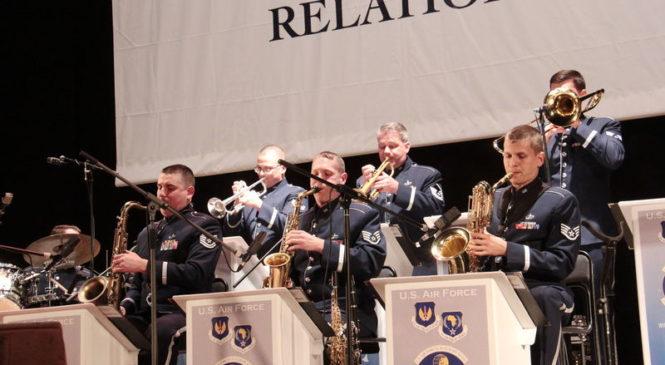 В Запорожье выступит оркестр военно-воздушных сил США в Европе