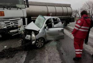 Жуткое ДТП под Запорожьем: погибли водитель и пассажир «Хюндай». ФОТО