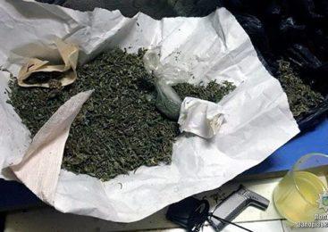 В Запорожье полицейские изъяли наркотики и оружие
