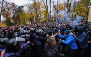 И опять-таки Одесса : митинг активистов перерос в побоище