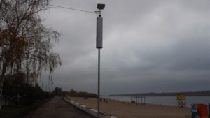 В Запорожье в районе Центрального пляжа станет светлее и безопаснее