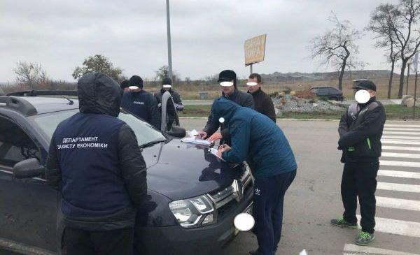 В Запорожской области за вымогательство задержан главный  инспектор рыбного хозяйства