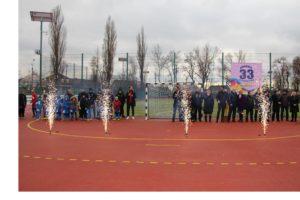 В Запорожье открыли многофункциональный стадион в Заводском районе