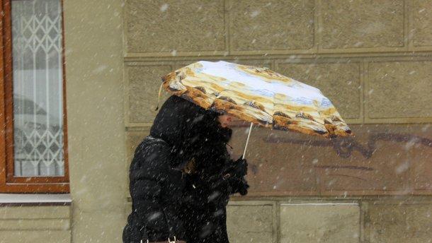 На Украину надвигается мощный шторм