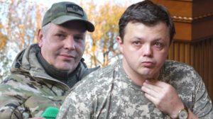 Комбат ВСУ «Филин» обвинил депутата Рады Семенченко в призывах к дезертирству из зоны АТО