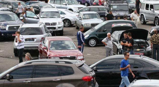 С начала года продажи подержанных авто выросли на 80%