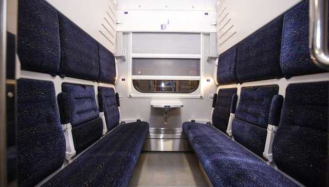Как выглядит новый поезд-трансформер Киев-Запорожье
