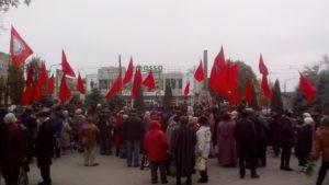 В Запорожье полиция задержала коммунистов