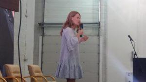 В Запорожье на туристическом форуме выступила Ольга Фреймут, — ФОТОРЕПОРТАЖ