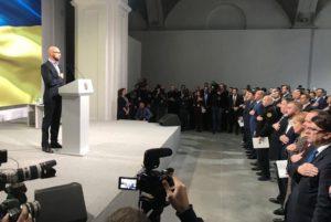 Партия Народный фронт собрала первый съезд за 4 года