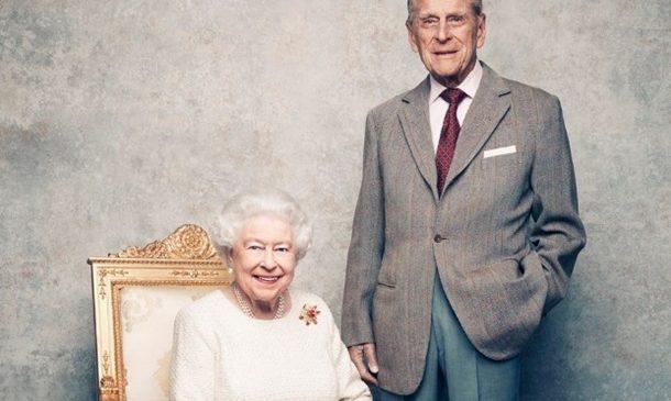Королева Великобритании отмечает 70-ю годовщину свадьбы