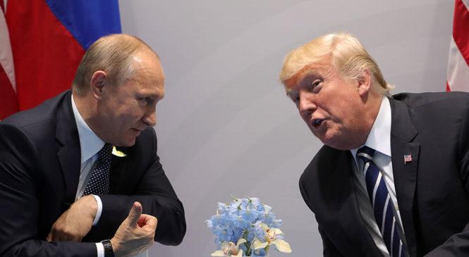Трамп отказался встречаться с Путиным