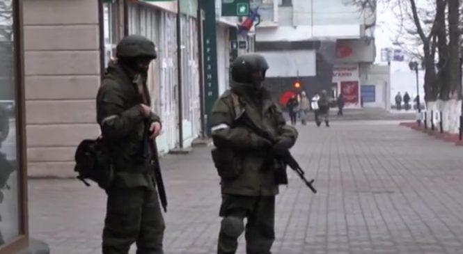Центр Луганска захватили вооруженные люди