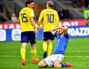 Finita la Tragedia. Сборная Италии впервые с 1958 года осталась за бортом ЧМ по футболу