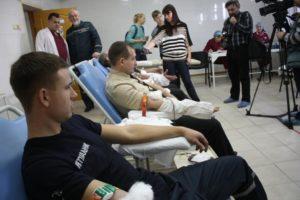 Запорожские спасатели присоединились к социальному проекту «В капле крови — спасение жизни»