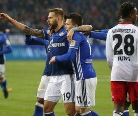 Шальке — Гамбург 2:0. Лучший день Коноплянки