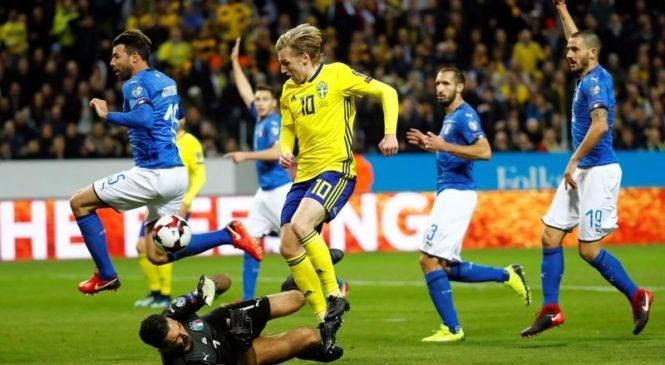 Такое пропускать нельзя. Италия — Швеция. Анонс матча