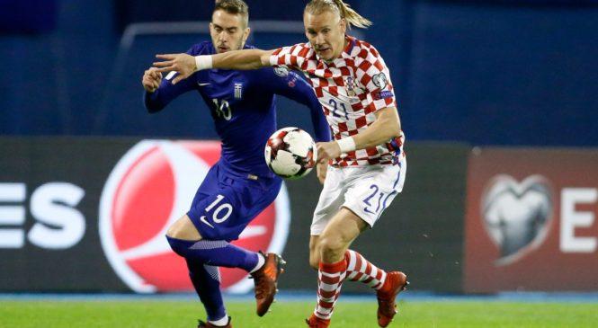 Плей-офф ЧМ-2018. Хорватия громит Грецию