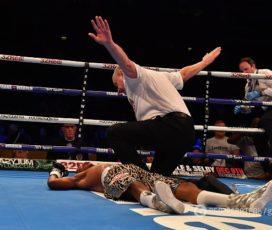 Боксер установил мировой рекорд, выиграв чемпионский бой одним ударом