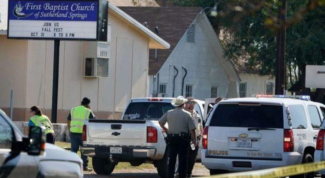 Кровавая бойня в Техасе. Убиты 26 прихожан баптистской церкви