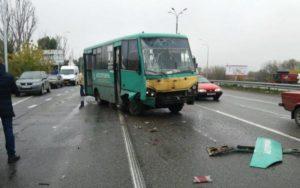 В Харькове очередное ДТП