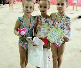 Юные запорожские гимнастки получили пальму первенства на Международном турнире