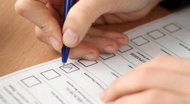 В Черкасской области выдали бюллетени других округов