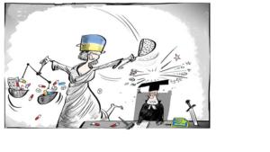 Имитация бурной деятельности украинской власти