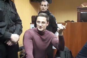 Владислав Марченко прослезился на суде, — ВИДЕО