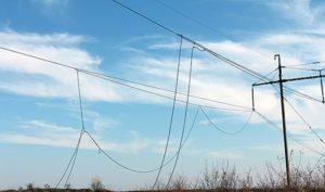 В Запорожской области из-за сильного ветра обесточены 19 населенных пунктов