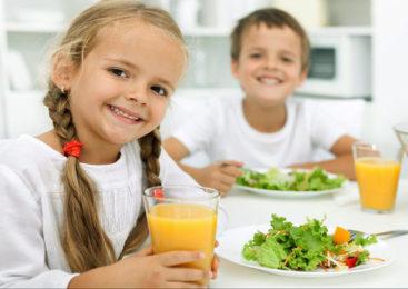 Новые нормы питания для детей. Видеосюжет
