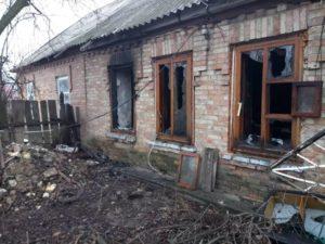 В Запорожье во время пожара погибла хозяйка дома