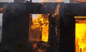 В Запорожской области во время ликвидации пожара нашли труп
