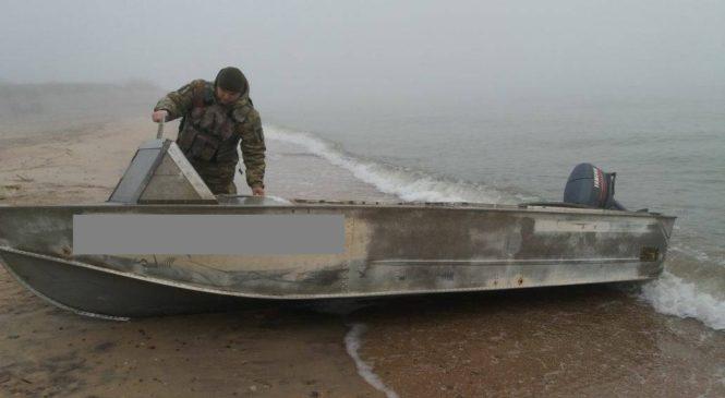 На берегу Азовского моря браконьеры выловили рыбы на 21 тысячу гривен