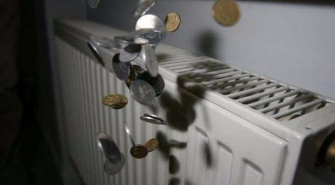 Украинцы накапливают долги за горячую воду и отопление