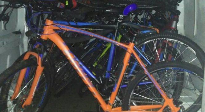 Запорожские патрульные, оформляя нетрезвого водителя, раскрыли кражу велосипедов
