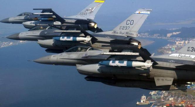 США и Южная Корея начали крупнейшие военные учения