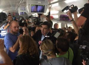 Саакашвили потребует в Европейском суде компенсации, потому что его «похитила СБУ»