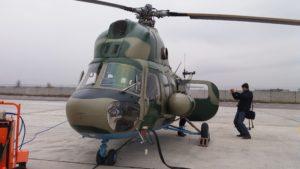 Запорожский вертолет передали военнослужащим Национальной гвардии, — ФОТОРЕПОРТАЖ