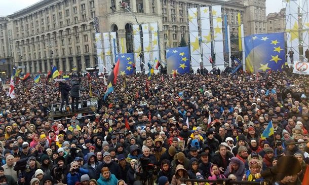 В Киеве завершился митинг за импичмент Порошенко