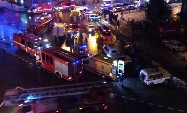 Взрыв в супермаркете Санкт-Петербурга, количество пострадавших увеличилось до 11
