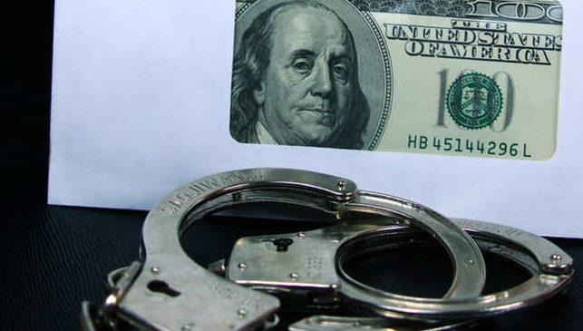 В Мелитополе при получении взятки в 1,5$ тысячи задержаны 2 сотрудника прокуратуры