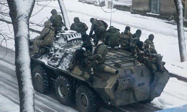 Штаб АТО: Сепаратисты нарушили новогоднее перемирие