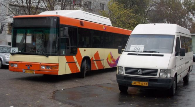 В Запорожье автобусы работают на два маршрута