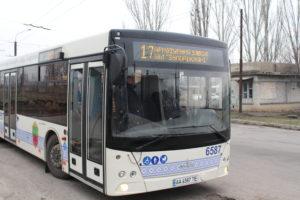 В Запорожье на маршрут вышли новые автобусы