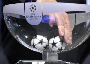 Сегодня состоится жеребьевка раундов плей-офф Лиги чемпионов и Лиги Европы